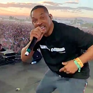 Will Smith Performs With Jaden Smith at Coachella 2019