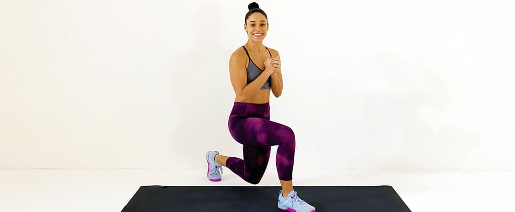 30-Minute No-Equipment Cardio Workout With Charlee Atkins