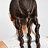 Twist wet hair to enhance curls