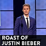 On Comedy Central's Roast of Justin Bieber