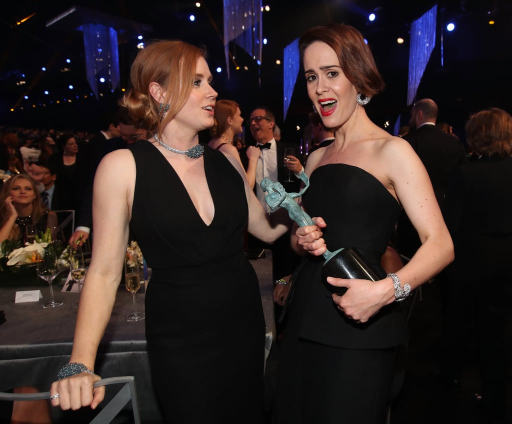 Pictured: Amy Adams and Sarah Paulson