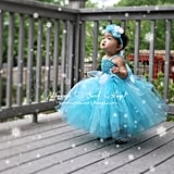 A tiny Princess Elsa Costume ($42) will have your little nugget looking like a fluffy ice princess in no time.