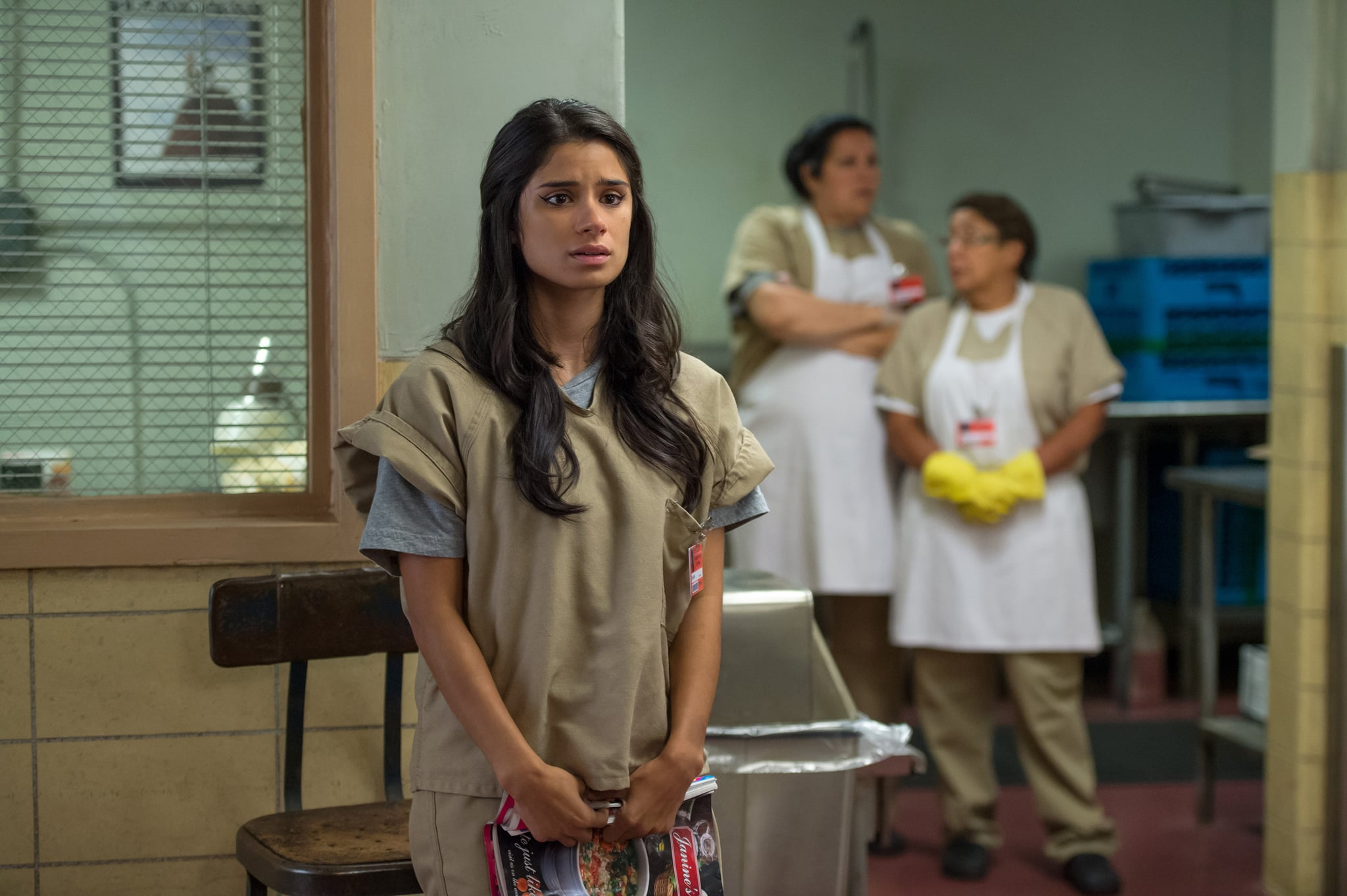 ORANGE IS THE NEW BLACK, Diane Guerrero, 'Piece of Sh*t',(Season 4, ep. 406, airs June 17, 2016). photo: Jojo Whilden / Netflix / courtesy Everett Collection