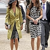 Kate Middleton and her sister Pippa attended the wedding of Sam Waley-Cohen and Annabel Ballin together in June 2011.
