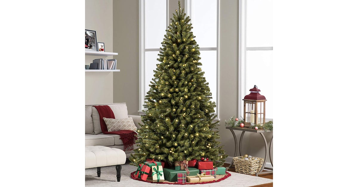 Best Choice Products 6ft Pre-Lit Spruce Hinged Artificial