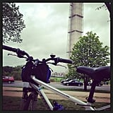 The starting point of a 19-mile ride to Mount Vernon in Virginia. Source: Instagram user annemariepippin