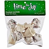 Time For Joy Frosted Rawhide Dog Bones ($10)