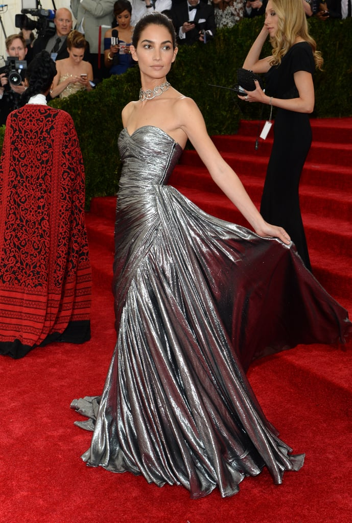 Lily Aldridge at the 2014 Met Gala