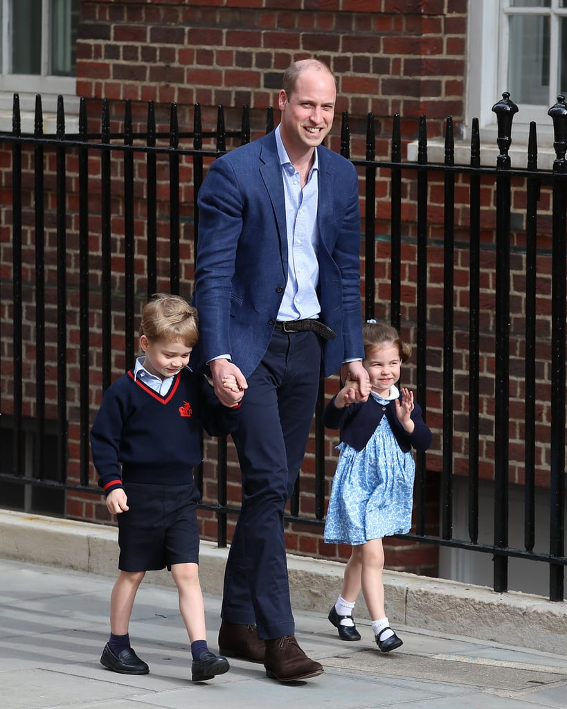"""Gan-Gan"" (Queen Elizabeth) isn't the only member of the royal family who Prince George has given a sweet nickname to. As it turns out, the 5-year-old doesn't refer to Prince William as ""His Royal Highness,"" ""Duke of Cambridge,"" or even ""Dad."" He actually turns to something so much cuter: ""Pops."" While Kate Middleton and Prince William were visiting the city of Leicester to honor the late Vichai Srivaddhanaprabha, the chairman of the Leicester City Football Club who passed away in October, Kate shared the nickname. ""Kate said that William was playing football with the children last night and one of them said, I think it was George, 'Are you playing football tomorrow, Pops?'"" LCFC season ticket holder, Fiona Sturgess, told reporters. Although Pops is much more mainstream than something like Gan-Gan, we can't help but melt a little thinking about George (or Charlotte) calling Prince William ""Pops"" in a tiny British accent.      Related:                                                                                                           Prince William Spoke Candidly About How Having Kids Affects Your Mental Health, and He's Spot On"