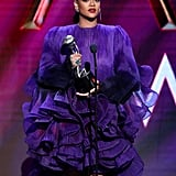 Photos of Rihanna at the 2020 NAACP Image Awards