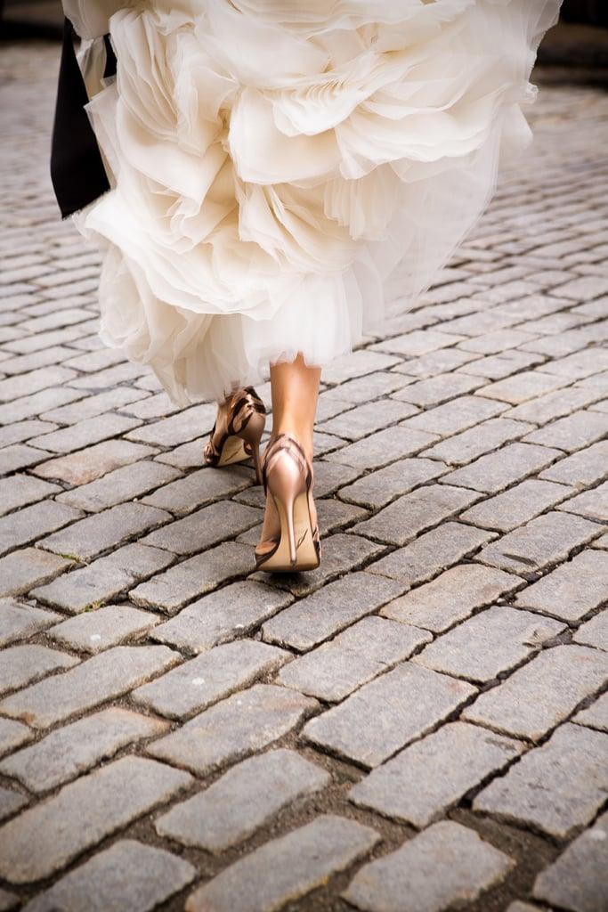 24. Shoes Walking Away