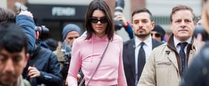 Kendall Jenner Channels a '90s Mom in the Trendiest Hoodie at Fashion Week