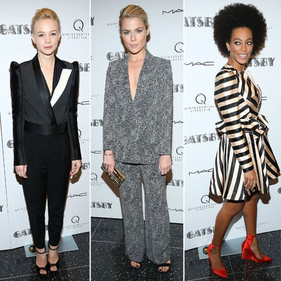 Celeb Style at Met Gala Pre-Screening of The Great Gatsby