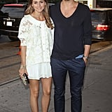The couple most likely to be best dressed arrived arm in arm for the New York premiere of Girl Most Likely.