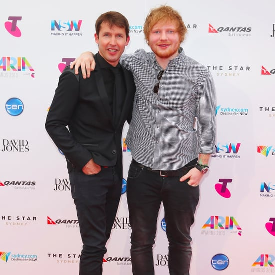 James Blunt Quotes About Ed Sheeran's Getting Cut