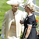 Princess Michael of Kent and Zara Tindall