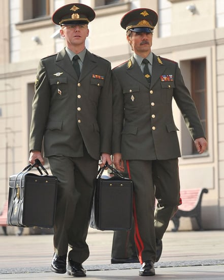 Pictures of Tom Cruise, Simon Pegg Filming Mission Impossible 4 in Prague