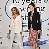 Princess Mary Wearing H&M Dress and Black Blazer 2019