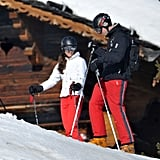 Prince William and Kate took a March ski vacation to France with the Middleton family.