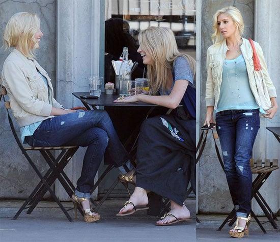 Heidi and Stephanie Meet Up