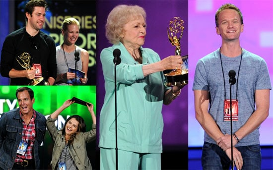 Celebrities at the Emmys Rehearsal