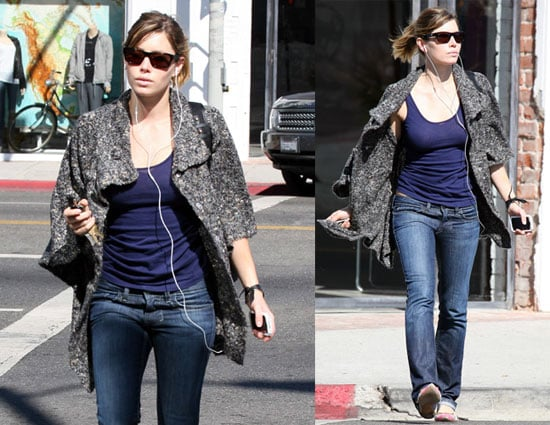 Photos of Jessica Biel, Who Recorded Vocals For Easy Virtue Soundtrack