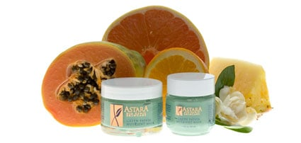Astara Green Papaya Nutrient Mask, $29