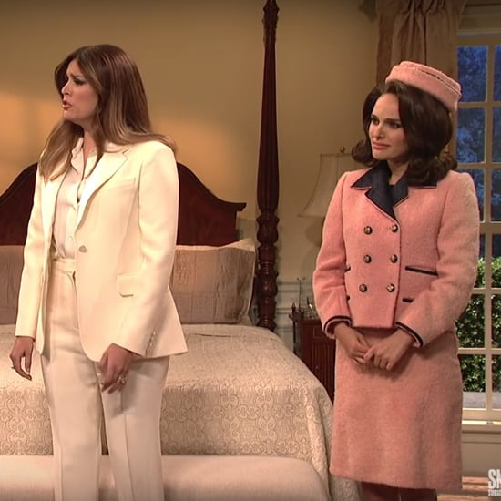 Melania Trump and Other First Ladies Sketch on SNL Video