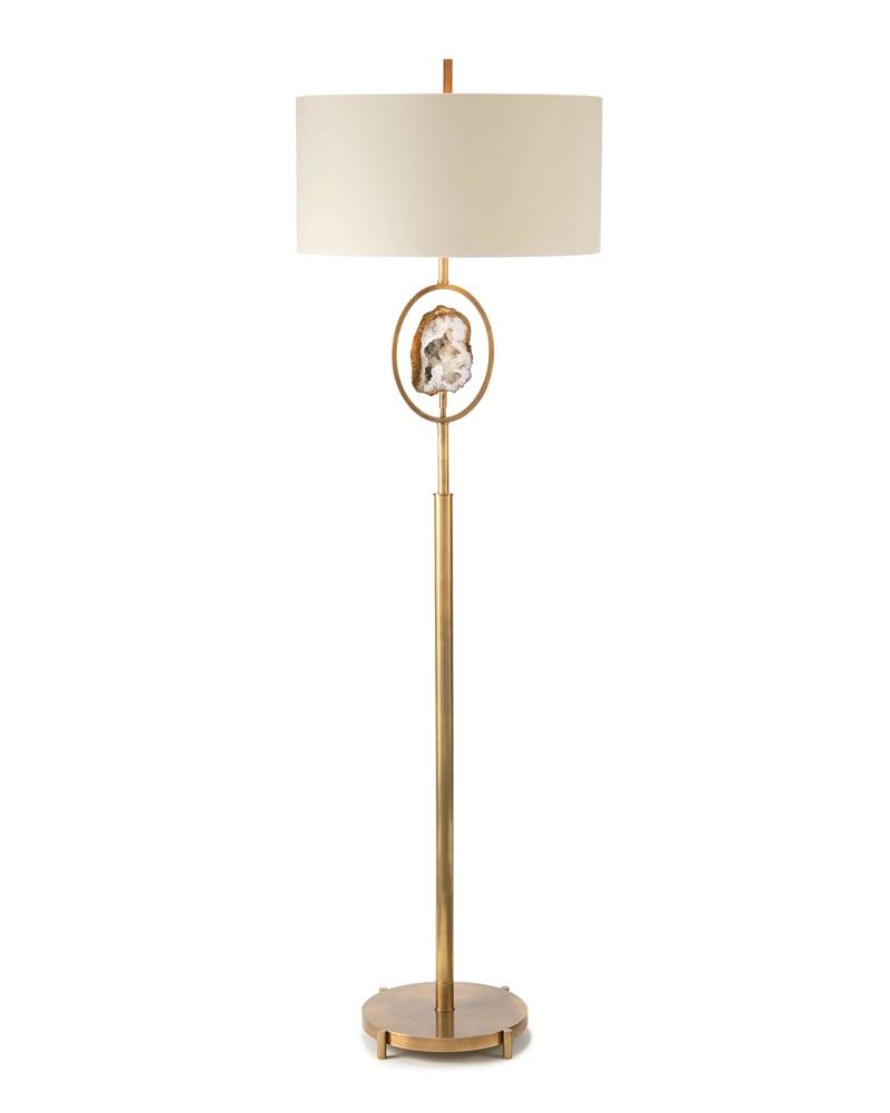 John-Richard Collection Geode Floor Lamp ($1,415)