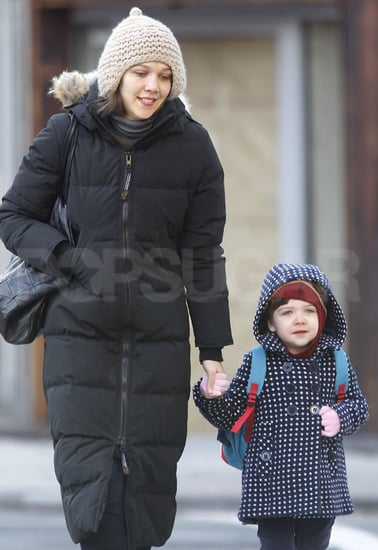 Pictures of Maggie Gyllenhaal and Ramona Sarsgaard in NYC