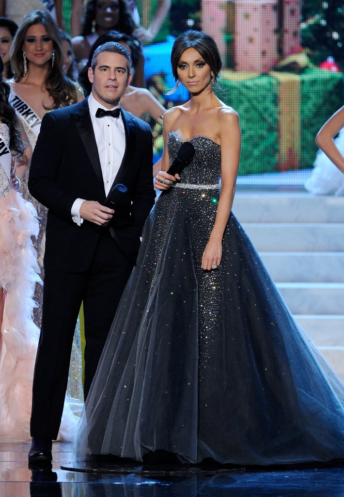 Hosts Andy Cohen and Giuliana Rancic