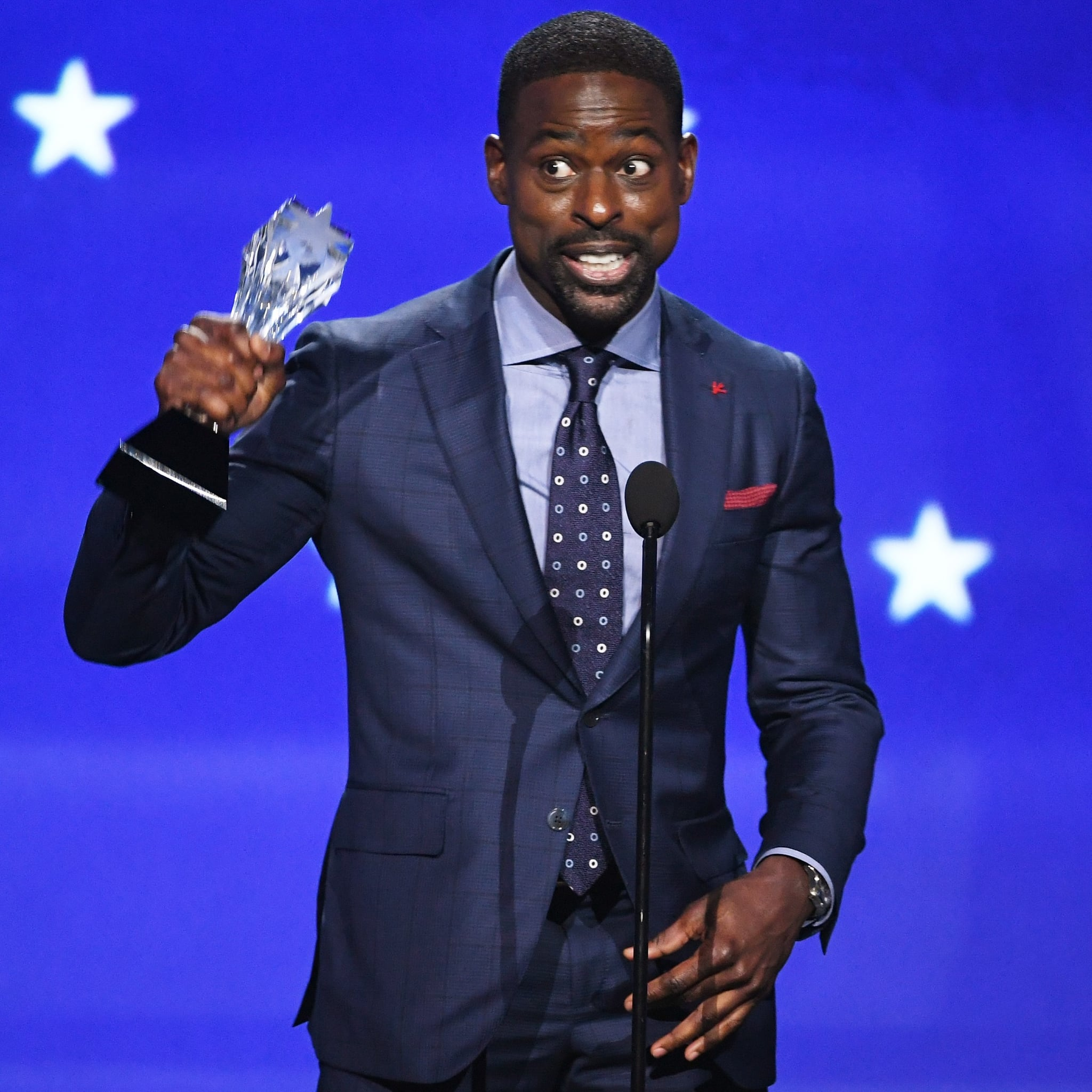 Sterling K. Brown Acceptance Speech at 2018 Critics\' Choice ...