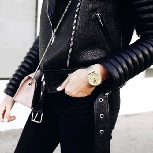 Chic Ways to Wear a Leather Jacket