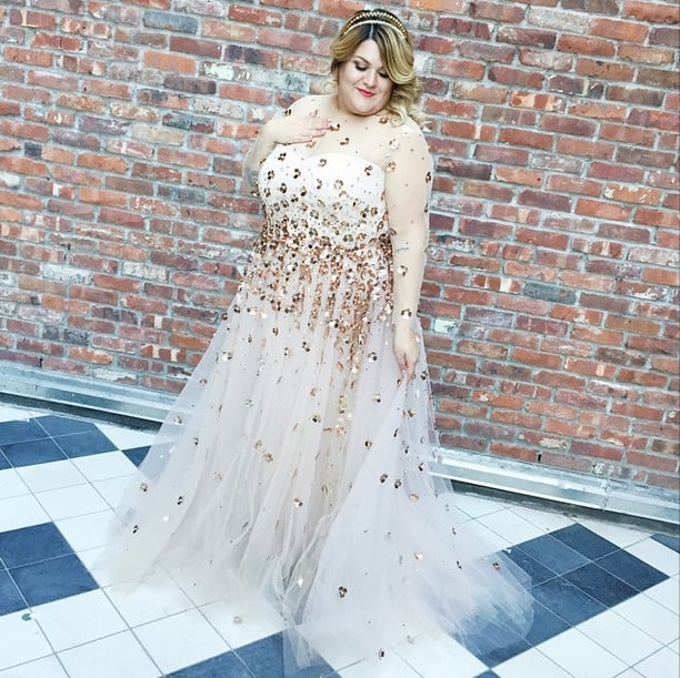 Plus-Size Blogger Nicolette Mason Wore a Sheer Wedding Dress —and It Was Totally Classy