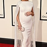 Chrissy stunned in Yousef Al-Jasmi at the 2016 Grammy Awards.