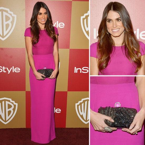 Nikki Reed Golden Globes Party Fashion 2013