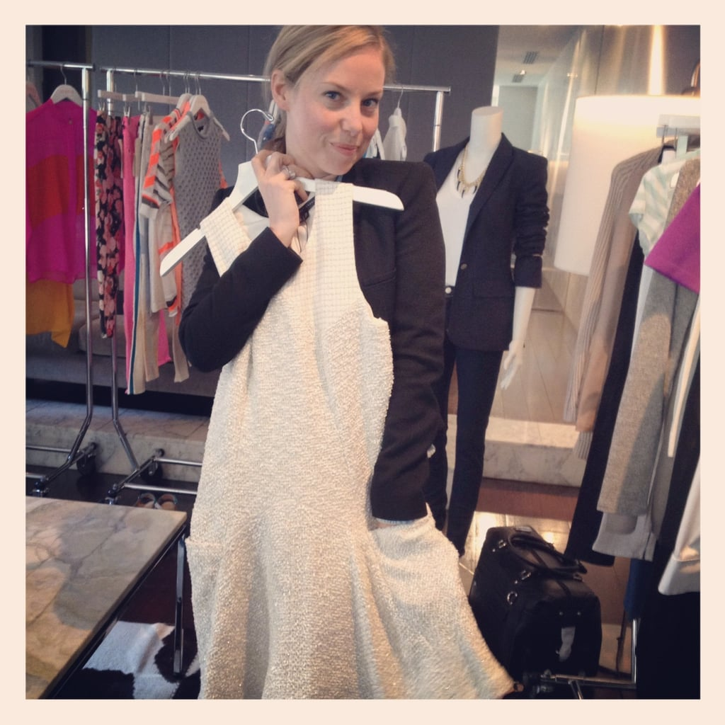 Found: The perfect work dress by Theyskens' Theory at the Shopbop showings.
