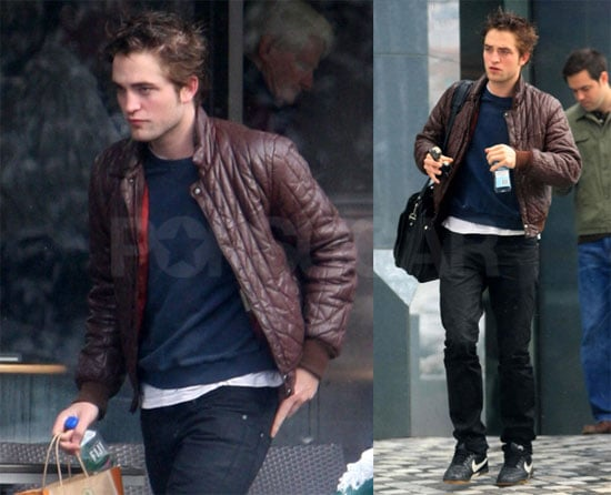 Robert Pattinson in Vancouver