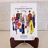 Fashion Show Calendar  ($20)