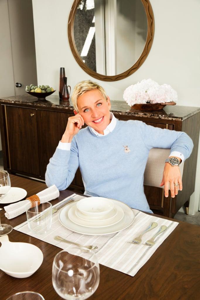 Ellen DeGeneres Dishes