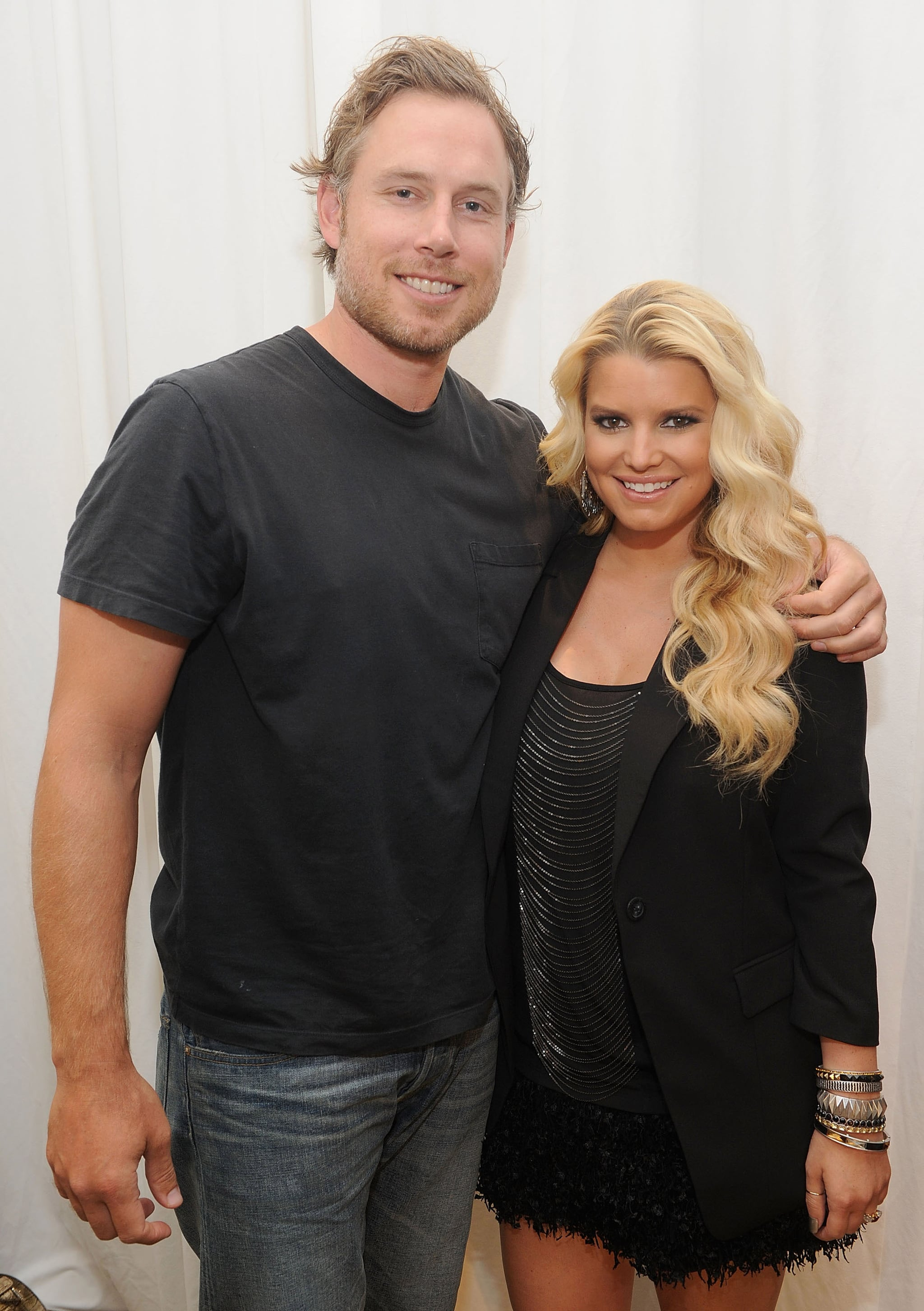 Jessica Simpson And Eric Johnson At Macy S Jessica Simpson Celebrates Her New Ready To Wear Designs In Sf With Eric Johnson Popsugar Celebrity Photo 3