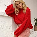 Simplee Pullover Knit Sweater