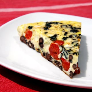 Healthy And Easy Vegetable Frittata