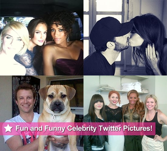 Fun and Funny Celebrity Twitter Pictures From Minka Kelly, Lea Michele, Britney Spears, Ricki-Lee Coulter