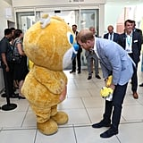 Prince Harry at Sheffield Children's Hospital July 2019