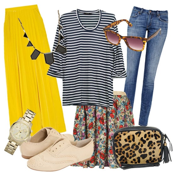 How to Wear Your Striped Shirt Seven Ways
