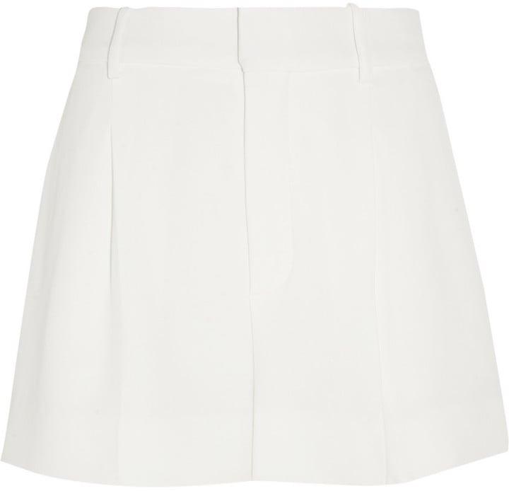 Chloé Iconic Pleated Crepe Shorts ($895)
