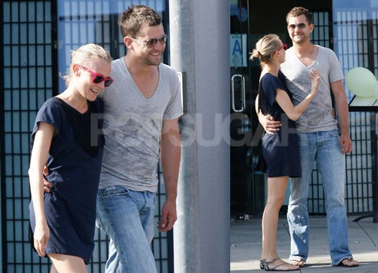 Photos of Joshua Jackson and Diane Kruger in Santa Monica