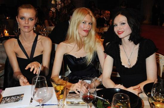 19/11/2008 Eva Herzigova, Claudia Schiffer, Sophie Ellis-Bextor at Vivienne Westwood