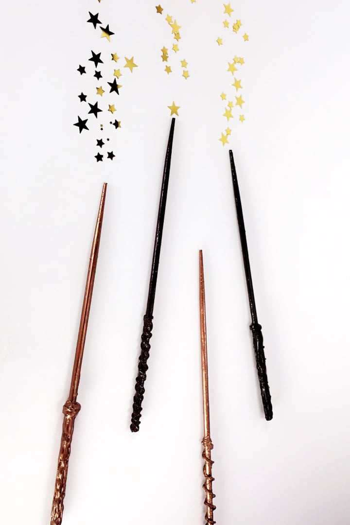 The Wands Suit Tarot Cards Meanings In Readings: Harry Potter Wand DIY Video